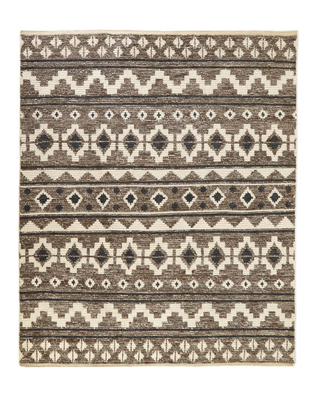 Wilma Hand-Knotted Runner, 2.6' x 8'