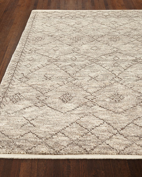 Maksym Hand-Knotted Rug, 5' x 7.6'