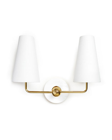 Caracas Two-Light Sconce