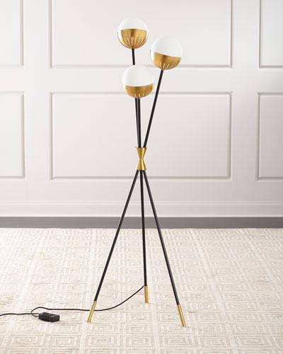 Caracas Tripod Floor Lamp