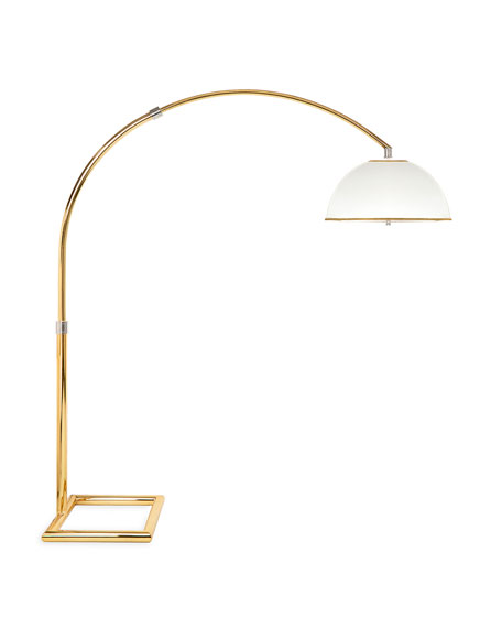 Electrum Arc Floor Lamp