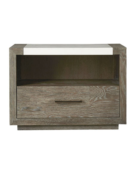 Capraia Quartz-Top Night Stand