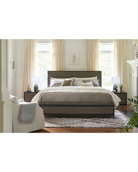 Delroy Queen Bed with Storage