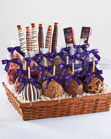 Indulgent Caramel Apple Gift Basket