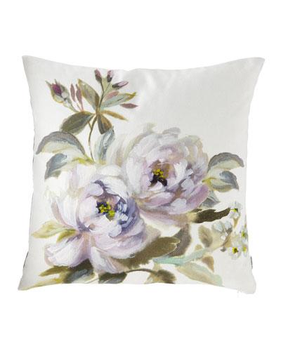 Victorine Viola Pillow