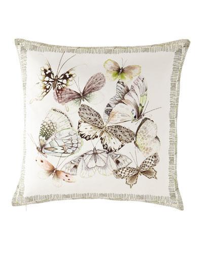 Papillons Shell Pillow