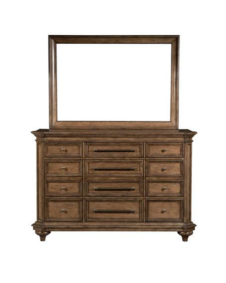 Claudia 9-Drawer Dresser
