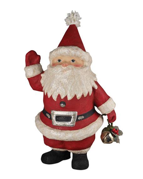 Little Papier Mache Santa