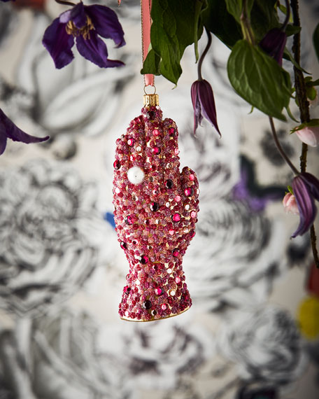 Christian Lacroix Embellished Hands Ornament