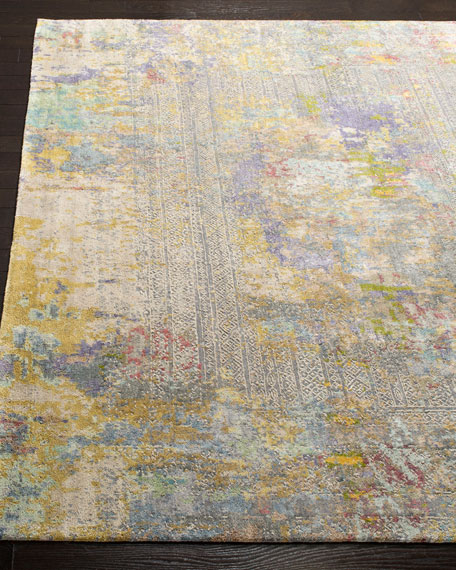 Weston Hand-Knotted Wool Rug, 8' x 10'