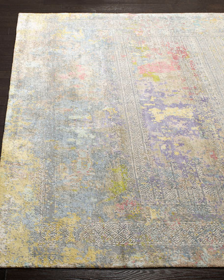 Weston Hand-Knotted Wool Rug, 9 x 12'