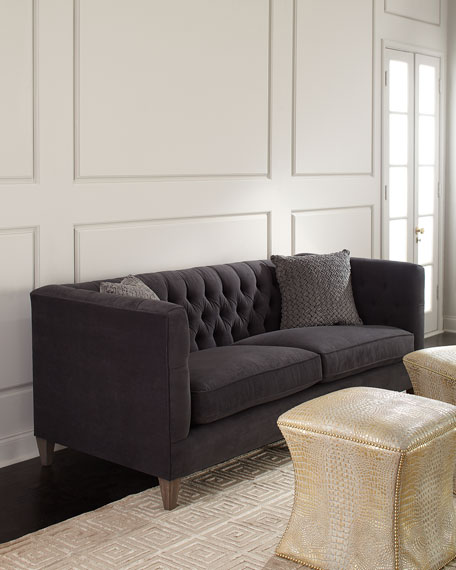 Brilliant Beckett Tufted Back Sofa 83 Download Free Architecture Designs Rallybritishbridgeorg