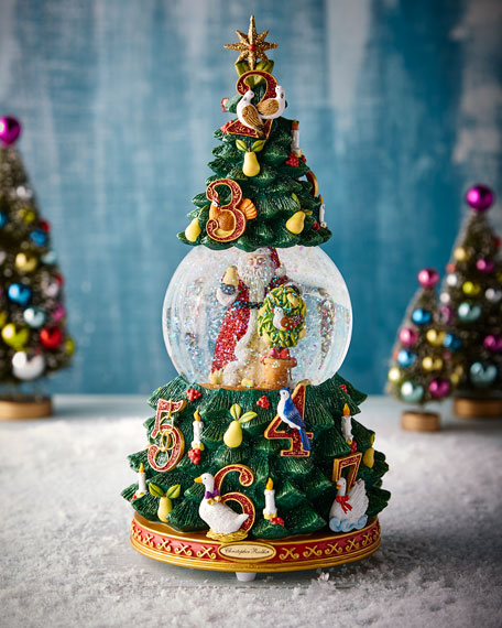 12 Days of Christmas Snow Globe