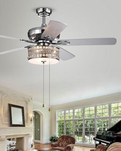 52 Chrome Ceiling Fan