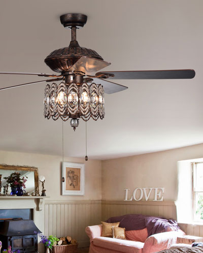 Ceiling Fan in Bronze Finish