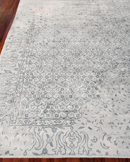 Exquisite Rugs Caidence Hand-Knotted Rug, 10' x 14'