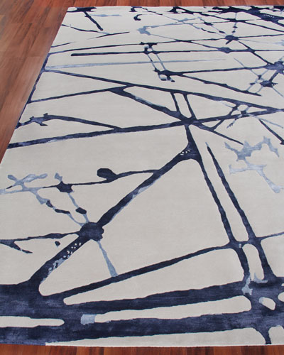 Starlight Hand-Knotted Rug  6' x 9'