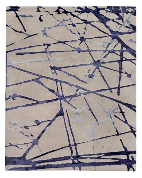 Starlight Hand-Knotted Rug, 9' x 12'