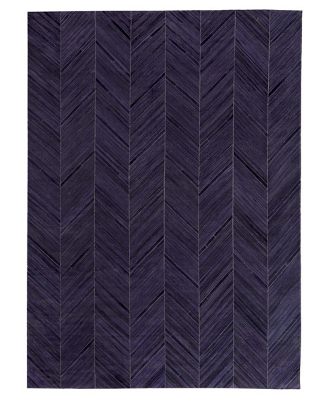 "Vivie Hair-Hide Rug, 11'6"" x 14'6"""