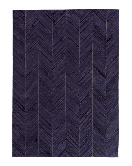 Vivie Hair-Hide Rug, 9.6' x 13.6'