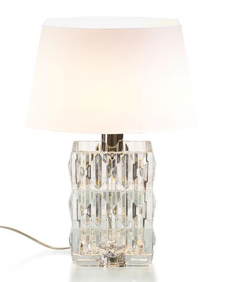 Louxor Crystal Table Lamp