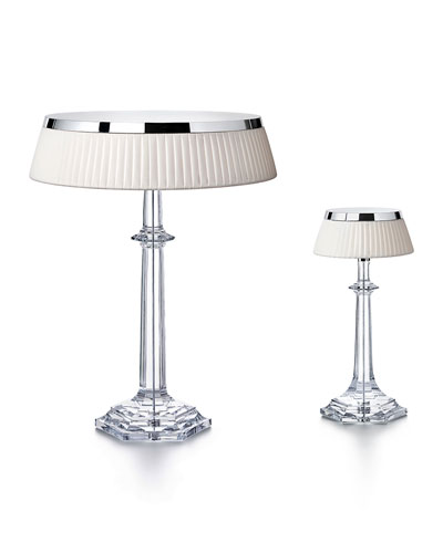 Bon Jour Versailles Small Crystal Table Lamp