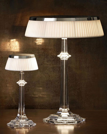 Bon Jour Versailles Large Crystal Table Lamp