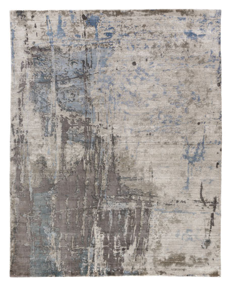 Chrissy Hand-Knotted Rug, 6' x 9'