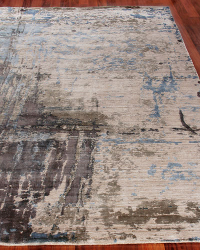 Chrissy Hand-Knotted Rug  6' x 9'