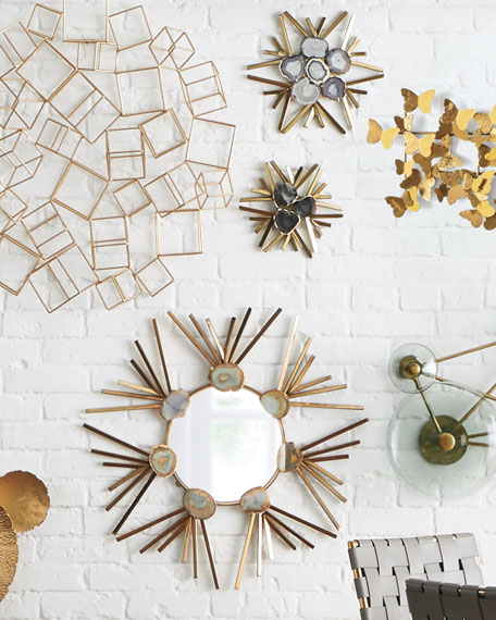Starburst Agate Wall Mirror