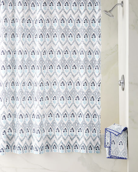 John Robshaw Sahasa Shower Curtain
