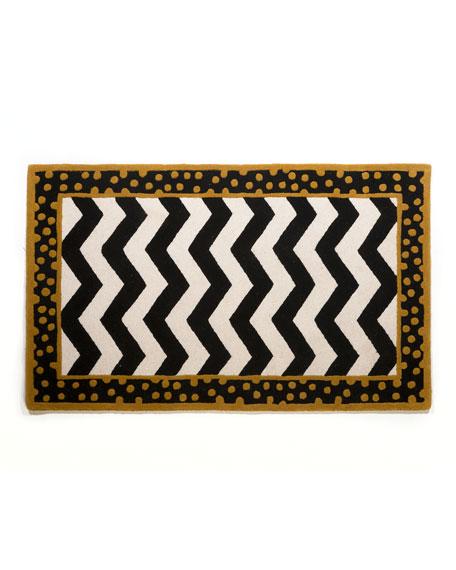 MacKenzie-Childs Zigzag Rug, 3' x 5'