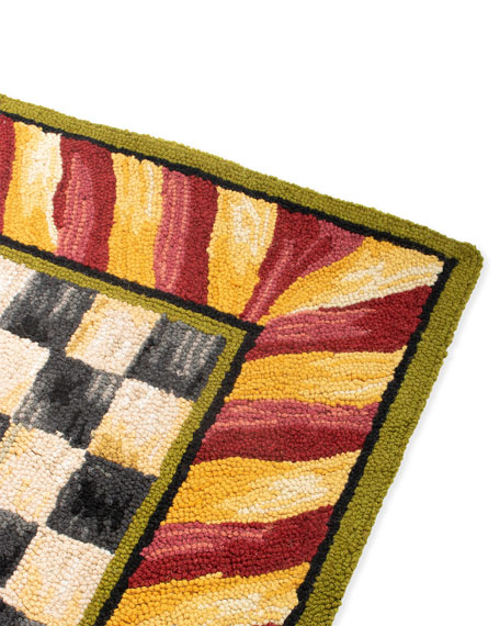 Courtly Check Rug, 2' x 3'