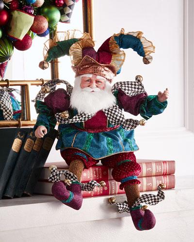 Have A Seat Santa Figure