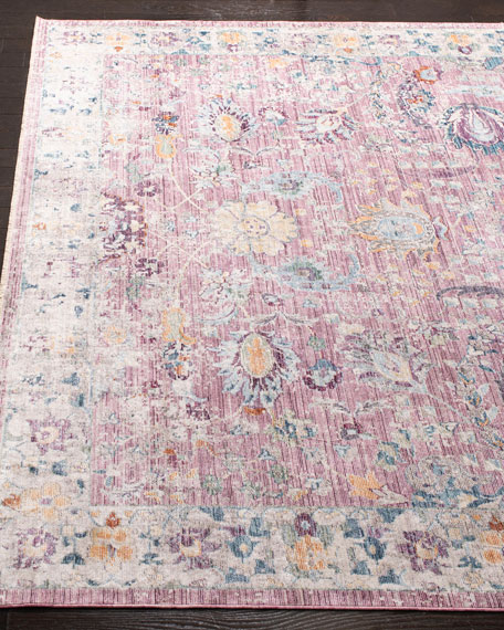 Lisbon Power-Loomed Rug, 4' x 6'