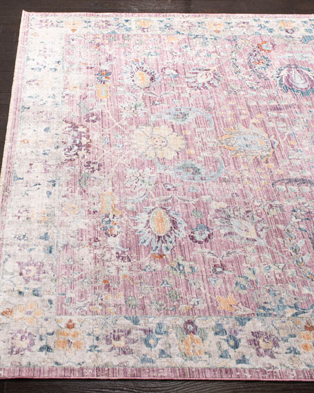 Lisbon Power-Loomed Rug, 6' x 9'