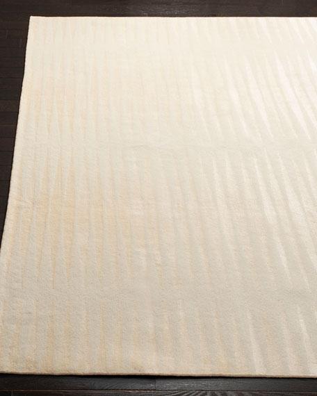 Ayumi Stripe Hand-Knotted Rug, 6' x 9'