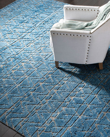 Dublin Hand-Knotted Rug, 8' x 10'