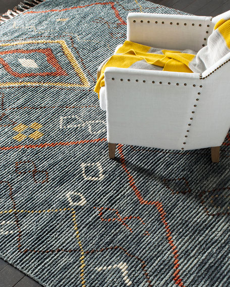Madrid Hand-Knotted Rug, 6' x 9'