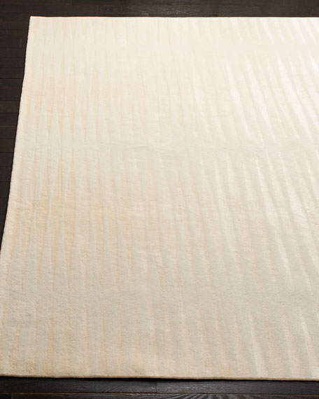 Ayumi Stripe Hand-Knotted Rug, 8' x 10'