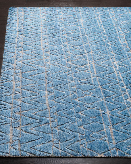Dublin Hand-Knotted Rug, 6' x 9'