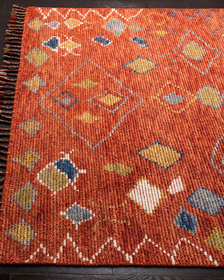 Milan Hand-Knotted Rug, 6' x 9'