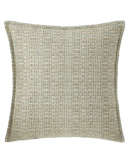 Tinsley Basket-Weave Pillow, 18