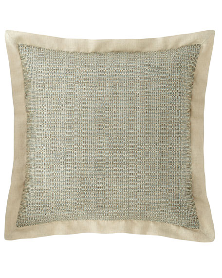 Tinsley Basketweave European Sham