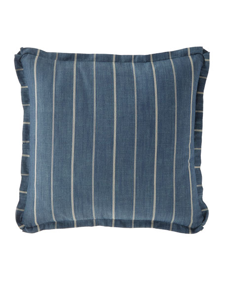 French Laundry Home Lauren Stripe European Sham