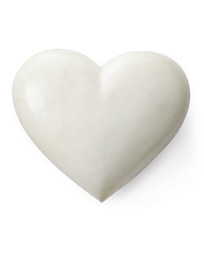 White Marble Heart