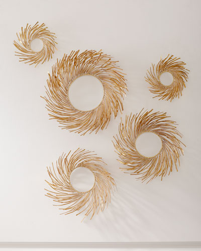 Assorted Nest Wall Decor  Set of 5