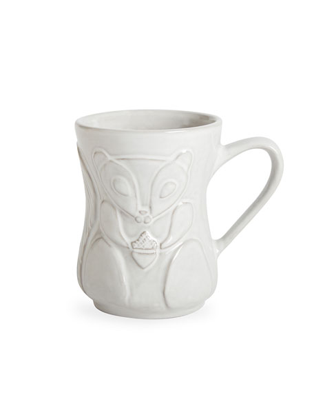 Jonathan Adler Utopia Woodland Squirrel/Skunk Mug