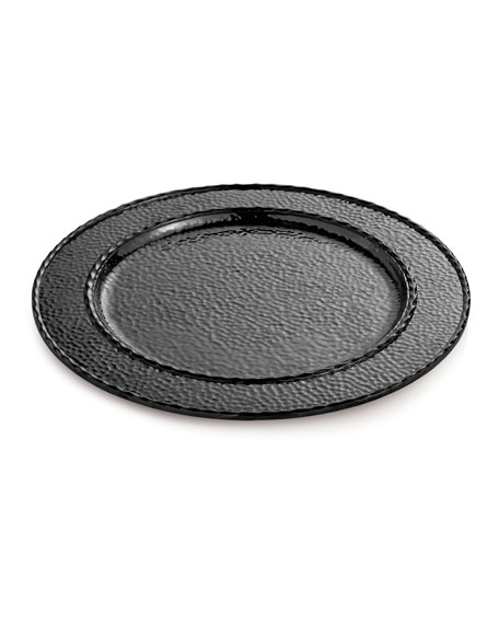 Hammertone Black Nickel-Plate Charger