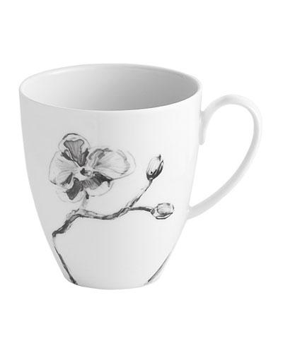 Black Orchid Mug